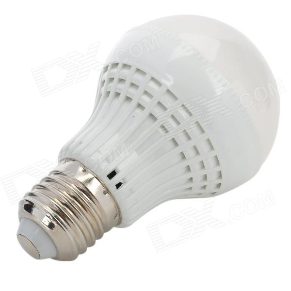 E27 5W 450lm 3000K 18 x SMD 2835 LED Warm White Light Lamp Bulb - White (85~265V)
