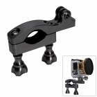 Fat Cat High Precision CNC Aluminum Fast Bike Mount Handle Bar for Gopro Hero 4/3+/3/2/1/SJ4000 - Gray