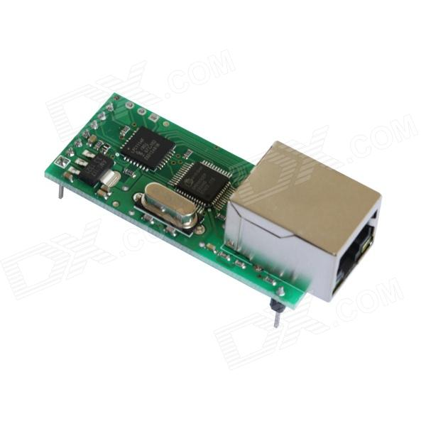 ETH TO 232 (A) Stable Ethernet to RS232 Convertor Connector / Ethernet Interface rs232 to rs485 interface communication connector serial port converter driver grey green