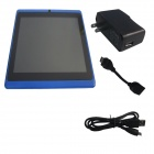 "ACSON A23 7"" Android 4.2 tokjerners Tablet PC / 512MB RAM, 4GB ROM, Dual kamera, TF - blå"