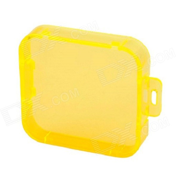 TOZ PC Under Sea Filter Cover for Gopro Hero 4/ 3+ -  Yellow