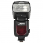 TRIOPO TR950 universell 10W 800lm 5500K blits for Canon, Nikon, Pentax, Olympus - svart