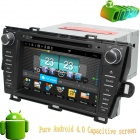 "LsqSTAR 8"" Pure Android Capacitive screen Car DVD Player w/ GPS,Radio,BT,TV,SWC,AUX for Toyota PRIUS"