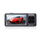 "TEER H7000 HD 1080P 2.7"" TFT 5.0MP CMOS Wide Angle Car DVR w/ HDMI / AV-OUT / GPS Track - Grey"