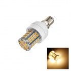 E14 4W 160lm 2700K 60 x SMD 2385 LED White Light Lamp Bulb - White (AC 220-240V)