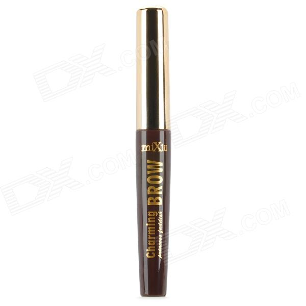 Miixiu 1206-02 Dye Eyebrow Brush w/ Eyebrow Comb - Coffee - DXEyelash/Eyebrow Supplies<br>Color Coffee Brand Miixiu Model 1206 Material Mineral material Quantity 1 Piece Shade Of Color Black Waterproof Yes Guarantee Data 3 year Packing List 1 x Eyebrow dyer<br>