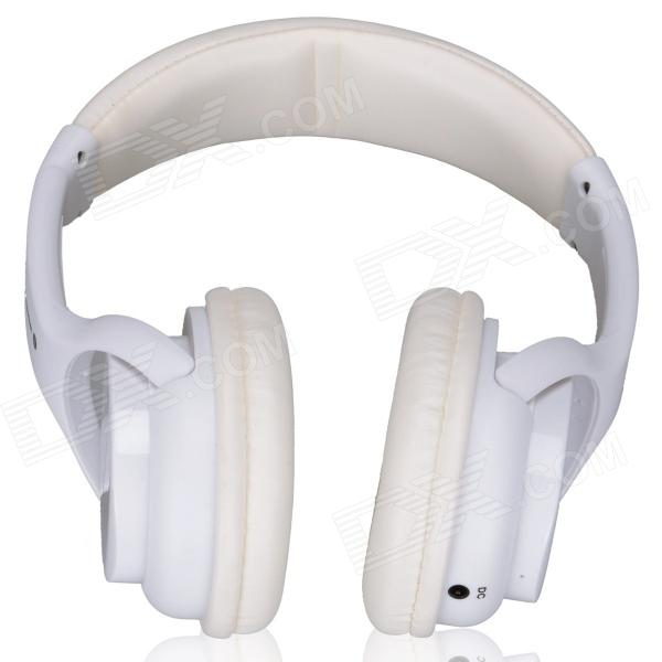 WS-3200 Bluetooth V2.1+EDR Stereo Headphone - White