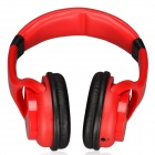 WS-3200 Bluetooth V2.1+EDR Stereo Headphone - Red + Black