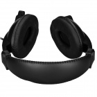 Feinier FE-921 3.5mm Plug Stereo Headset w/ Retractable Microphone - Black(206cm)