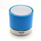 S12 Portable 3W Bluetooth V3.0 Stereo Speaker w/ Mic / 3.5mm Jack / TF / FM - Black