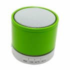 S08 Portable 3W Bluetooth V3.0 Stereo Speaker w/ Mic, TF, FM - Black