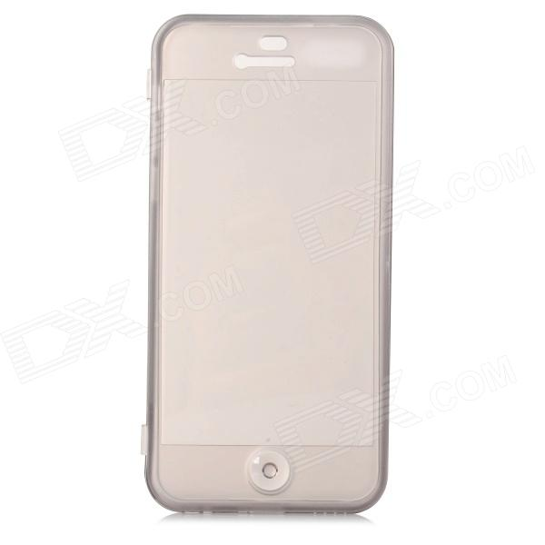 Protective Silicone Case Cover for IPHONE 5C - Translucent Grey