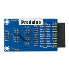 Produino Jlink V7 Jlink V8 Adapter Board Compatible with Mini 2440 / 2440 / 44B0 / 6410 - Blue
