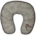 CHIEF U Shaped Travel Memory Foam Cushion Neck Pillow - Grey