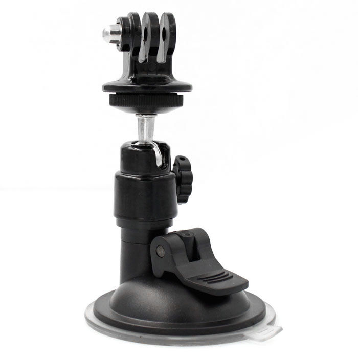 "Universal 360"" Rotation Suction Cup + TrIPOD Mount for GoPro - Black"