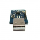 Bluetooth V4.0 CC2540 USB Dongle Development Board Support protocole analyse George - bleu