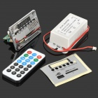 LSON 12V Bluetooth MP3 / WMA Audio Decoder Board w/ FM / SD Power Supply - Silver