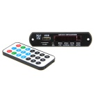 Bluetooth v3.0 + EDR Audio MP3 Decoder Module - Black (12V)