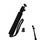 BZ54 Monopod w/ TrIPOD Mount Adapter for GoPro / Sony + More - Black
