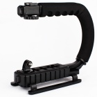 Prolite Handheld Stabiliizer For DSLR / Cameracorder / GoPro Hero 3 / 2 / 1 Holder - Black