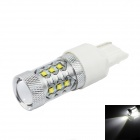 HJ-007 7440 80W 920lm 16-CREE XBD R3 White Light Car Foglight / Headlamp (12~24V)