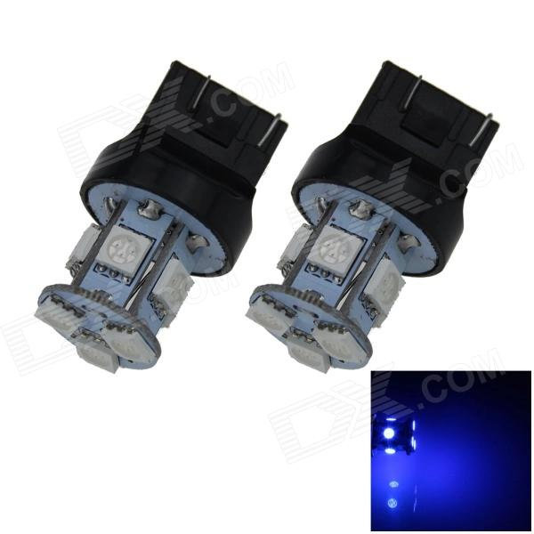 7443 / 7440 / T20 1W 100lm 8 x SMD 5050 LED Blue Car Steering / Brake / Tail Light  (12V/ 2 PCS)
