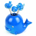 Cute Dolphin Multi Fork - Blue