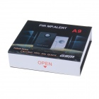 A9 Infrared Sensor Base Station Location Mini GSM Anti-Theft Alarm - Black