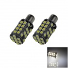 1141 / BA15S / 1156 8W 800lm 40 x SMD 5050 LED White Car Signal Light / Steering Lamp (12V / 2 PCS)