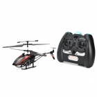 H2XD 2018 Infrared Rechargeable 3-CH R/C Helicopter w/ Gyroscope - Black + Red