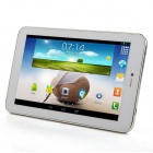 "AMPE A72 3G 7"" IPS Android 4.2.2 Dual Core 3G telefon Tablet PC med 512MB RAM, 8GB ROM, GPS - hvit"