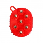 Seven Magnetic Steel Ball Massage Lymphatic Detox - Red