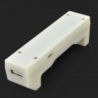 Micro USB Portable 18650 Li-ion chargeur Power Bank - blanc