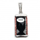 SZ-8 Necklace Pendant Style USB 2.0 Flash Drive - Black + Red + Multicolored (16GB)