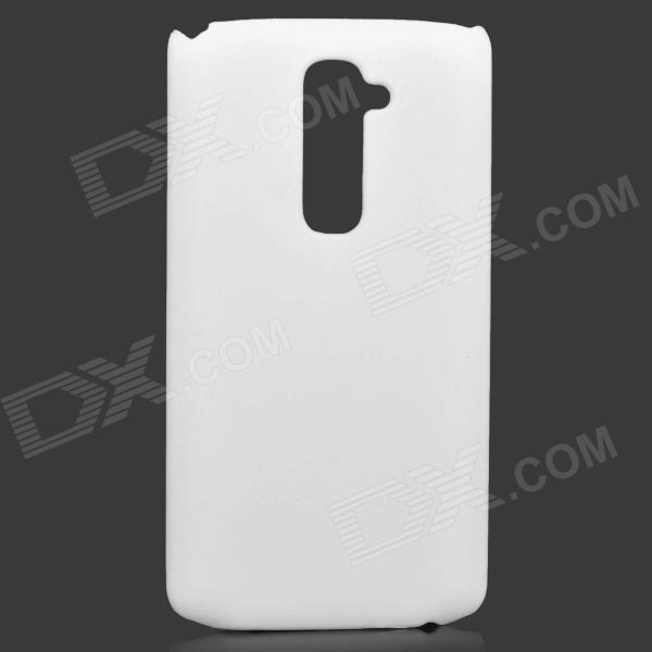 Protective PC Matte Back Case for LG G2 - White