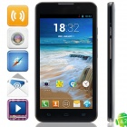 "C1000 MTK6572 Dual-core Android 4.2.2 WCDMA Bar Phone w/ 5.0"", 512MB RAM, 4GB ROM, GPS - Black"