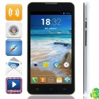 "C1000 MTK6572 Dual-core Android 4.2.2 WCDMA Bar Phone w/ 5.0"", 512MB RAM, 4GB ROM, GPS - White"