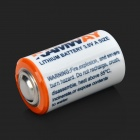 Hongyang CR2 batteries de 3V Li-MnO2 - blanc + bleu + multicolores (2 PCS)