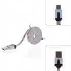 Countryside Style Micro USB Male to USB 2.0 Male Data Sync / Charging Cable for Samsung /Sony/Google