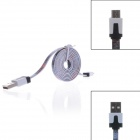 Spots And Fringe Style Micro USB Male to USB 2.0 Male Data Sync / Charging Cable for Samsung /Sony