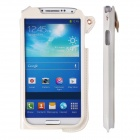 SODO CM01 New Edition PU Leather Protective Case for Samsung Galaxy S4 - White