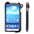 SODO CM01 New Edition PU Leather Protective Case for Samsung Galaxy S4 - Black