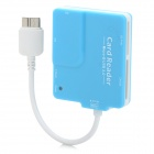 3305 Micro USB 3.0 OTG Card Reader for Samsung Galaxy N900 / N9006 / N9002 / N9009 / N9008 - Blue