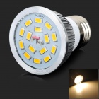 LeXing LX-SD-052 E27 6.5W 550lm 3500K 15-SMD 5730 LED Warm White Spotlight (220~240V)