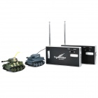 Mini Wireless 40MHz R/C Battle Military Kumite Tank Toy Gift for Children