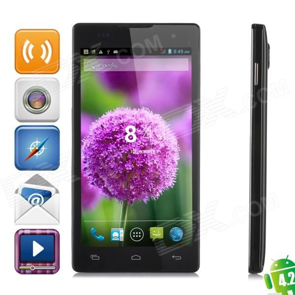 "JIAKE JK11 Android 4.2.2 Quad-Core WCDMA Smartphone w/ 5"" Screen, GPS and Wi-Fi"