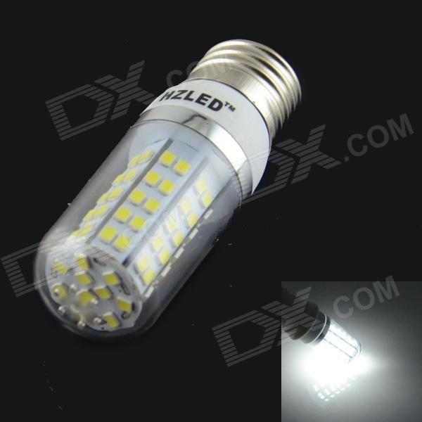 HZLED E27 7W 770lm 80-SMD 2835 LED Cold White Bulb (85~265V)