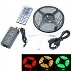 36W 12V 150-LED Mini RGB Waterproof Epoxy Decoration LED Strip Kits - White (500cm)