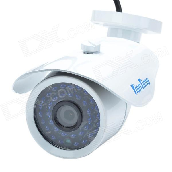 YianTime YT-5060L 720P 1.0 MP Waterproof Infrared Network IP Camera W/ 36-IR LED - White(SKU 296832)
