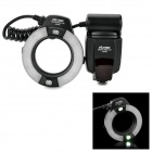 "viltrox JY-670C 2.0"" LCD TTL Macro Ring Flashlight for Canon - Black (4 x AA)"